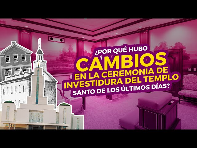 ¿Por qué hubo cambios en la ceremonia de investidura del templo Santo de los Últimos Días?