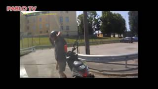 Roller vs Polizei - Part.30 Polizei Verfolgungsjagd -↕- Police vs Scooter vs Polizei Part.30