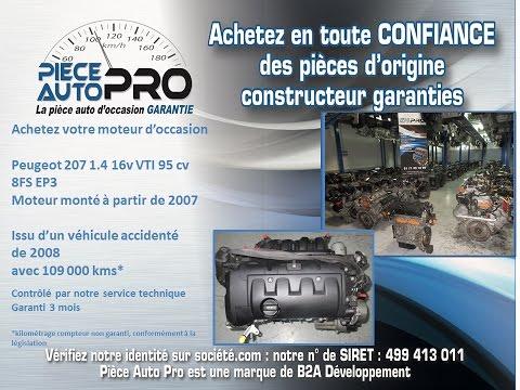 Фото к видео: Moteur garanti Peugeot 207 1.4 16v VTI 95 cv 8FS EP3