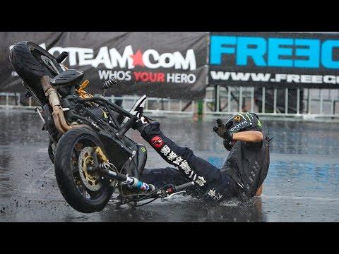 Best Motorcycle Tricks of StuntGP 2014