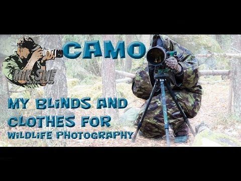 My Camo Clothes And Blinds For Wildlife And Bird Photography