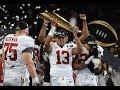 "Alabama Football || ""National Champions"" || 2017-2018 Season ||"