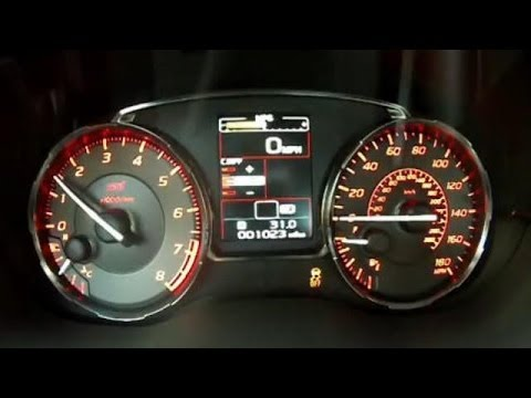 2017 Subaru Wrx Sti 0 60 Mph Acceleration Test Video 305 Hp Turbocharged Boxer Engine You
