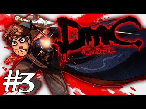 How Dante Got His Groove Back - Devil May Cry Gameplay / Walkthrough w/ SSoHPKC Part 3 - Carver