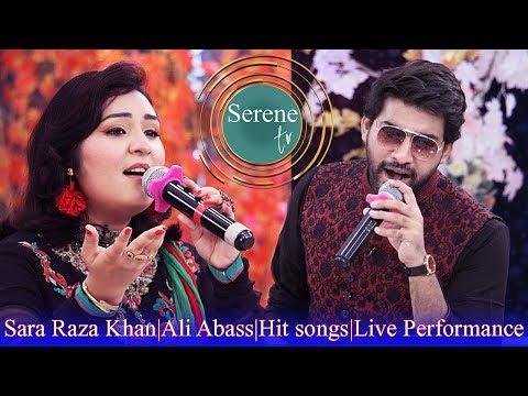 Sara Raza Khan & Ali Abass hit songs | live performance