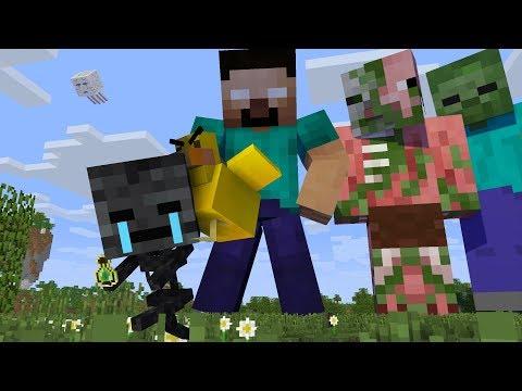 MONSTER SCHOOL -  GIANT CHALLENGE - Minecraft Animation