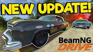 Massive Update! New Traffic AI, Police Chases, Maps, and Drag Racing! - BeamNG Drive Gameplay
