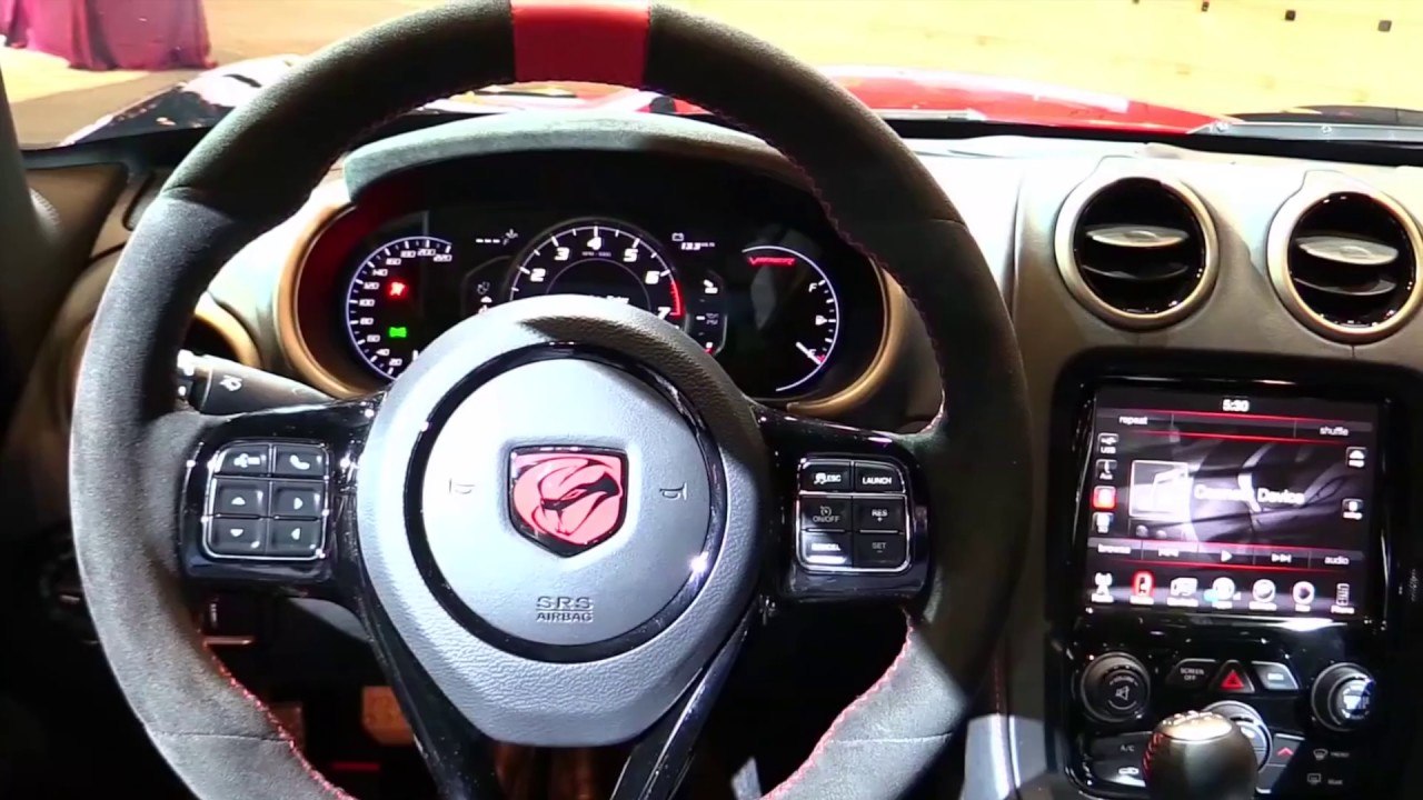 2017 Dodge Viper ACR Luxury Features | Exterior and Interior | First Impression HD - YouTube