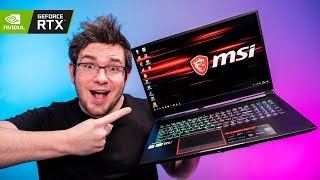 Pierwszy laptop z RTX 2070 - MSI GE75