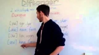 Dansk udtale - diftonger