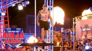 Unseen Ninja Run: Daniel Walker (Grand Final - Stage 1) | Australian Ninja Warrior 2018