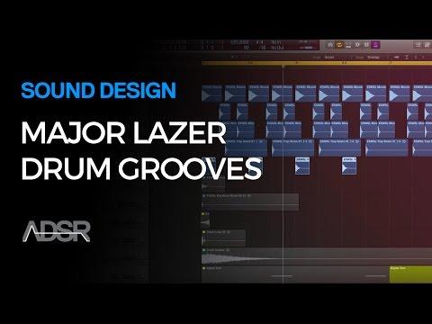 How To Make Major Lazer Moombathon Drum Grooves