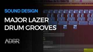 How To Make Major Lazer Moombathon Drum Grooves