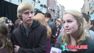 Jason Dolley & Bridgit Mendler On First Kisses!