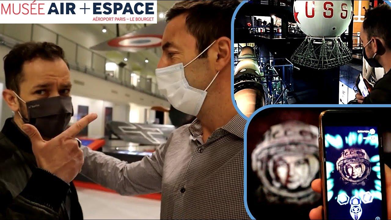 """Expérience """"Star Trek"""" en réalité augmentée au Musée de l'Air et de l'Espace (au Bourget)"""