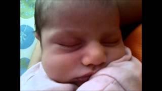 Maya snoring - 3 weeks old