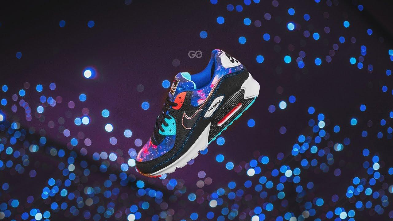 Nike Air Max 90 Supernova Galaxy Review Sean Go