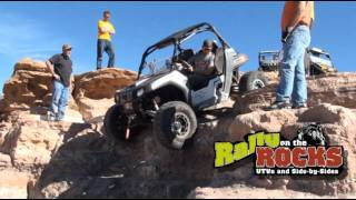 WHITE KNUCKLE UNASSISTED RZR - MOAB, UTAH!