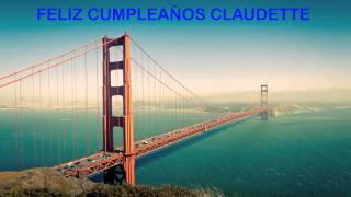 Claudette   Landmarks & Lugares Famosos - Happy Birthday