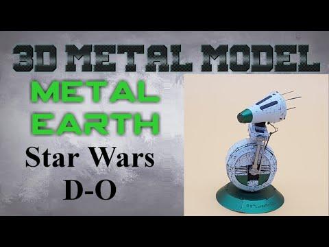 Metal Earth Build - Star Wars D-O