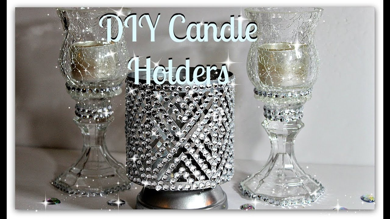 Bath And Body Works Inspired Candle Holders||Dollar ...