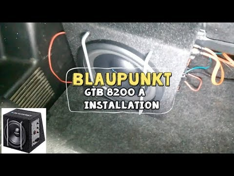Blaupunkt GTb 8200 A Installation on a Suzuki Swift