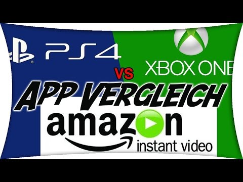 Amazon Instant Video - Xbox One vs. PS4 Vergleich