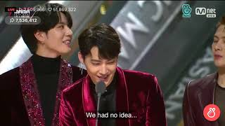 "Got7 Win ""TikTok Most Popular Artist"" - 2018 MAMA in Hong Kong"