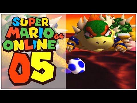Super Mario 64 Online Part 5: MOBBING beim zweiten BOWSER-KAMPF