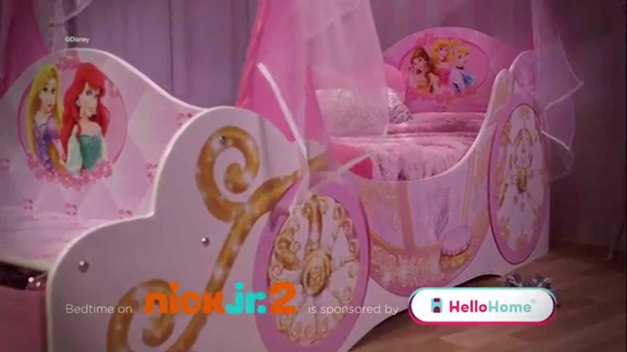 Princess carriage toddler bed - Hellohome Disney Princess Startime Carriage Bed