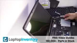 Lenovo G550 B550 Touchpad Installation Disassemble Take Apart Palmrest Replacement  Install