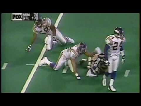 2000 Week 15 Vikings vs Rams Highlights