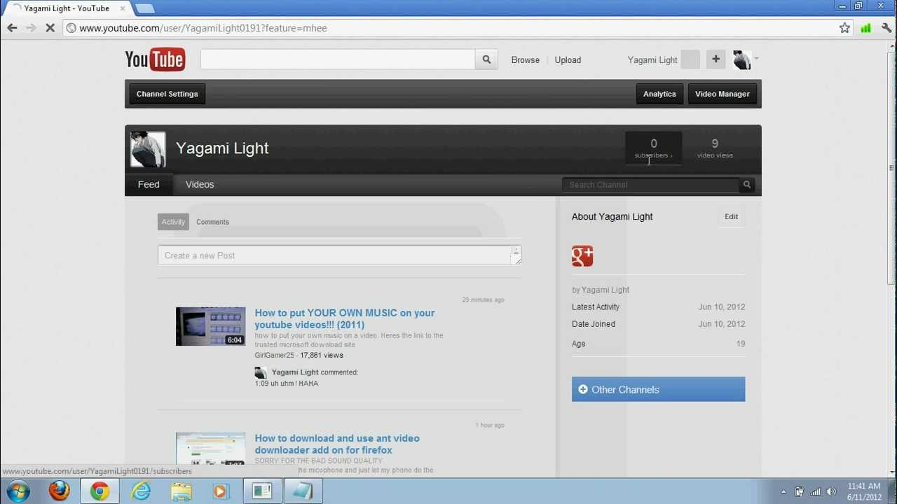 Featured: How To Add Music On Your Youtube Video Without Software 2012
