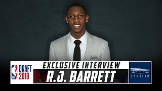 NBA Draft Prospect R.J. Barrett Talks to Shams Charania | Stadium
