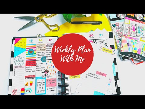 Weekly Plan With Me | Classic Happy Planner thumbnail