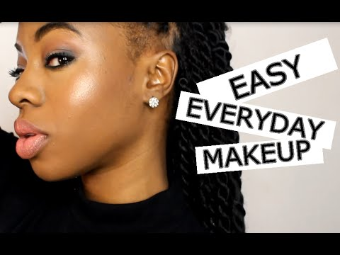 easy everyday makeup look  youtube