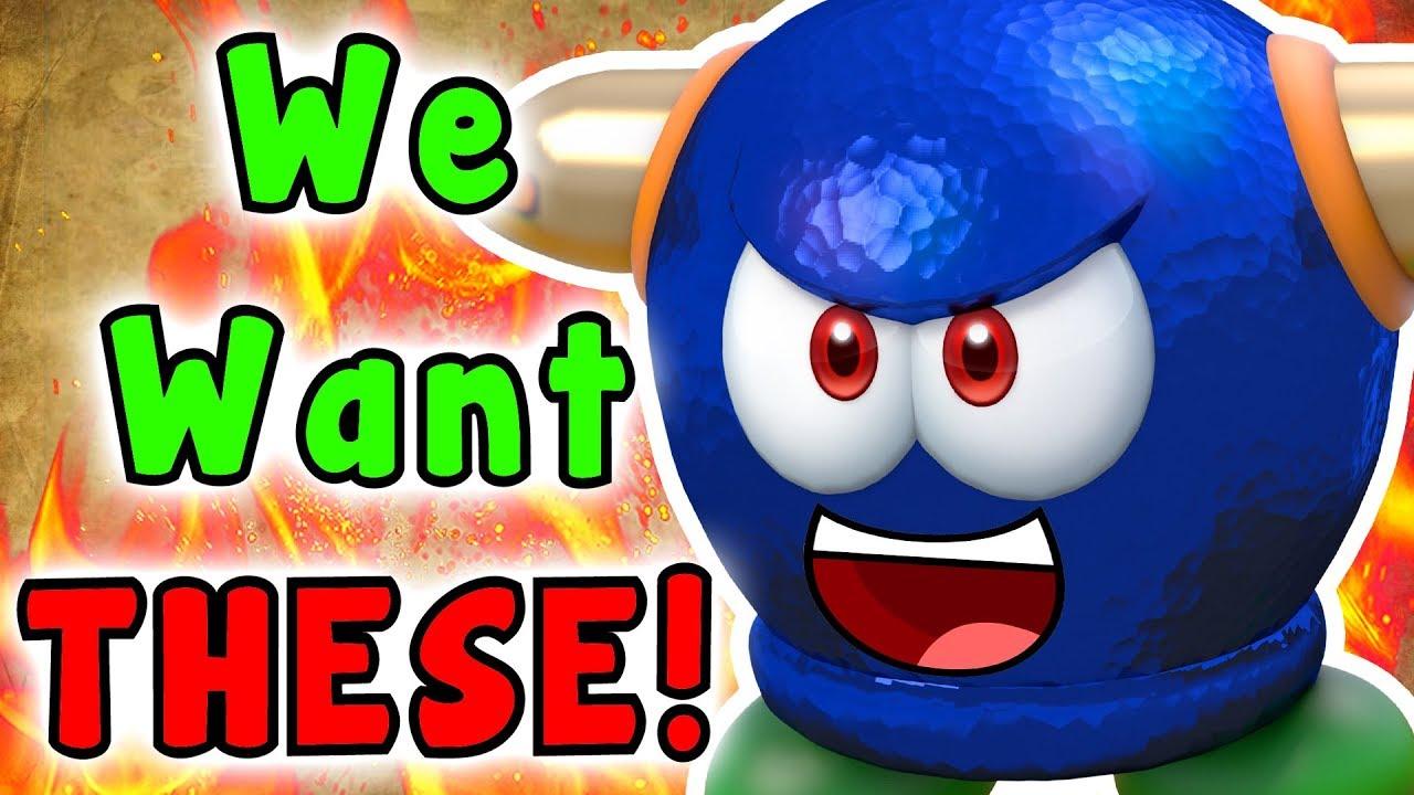 Top 5 Super Mario 3D World Enemies MARIO MAKER 2 Should Have
