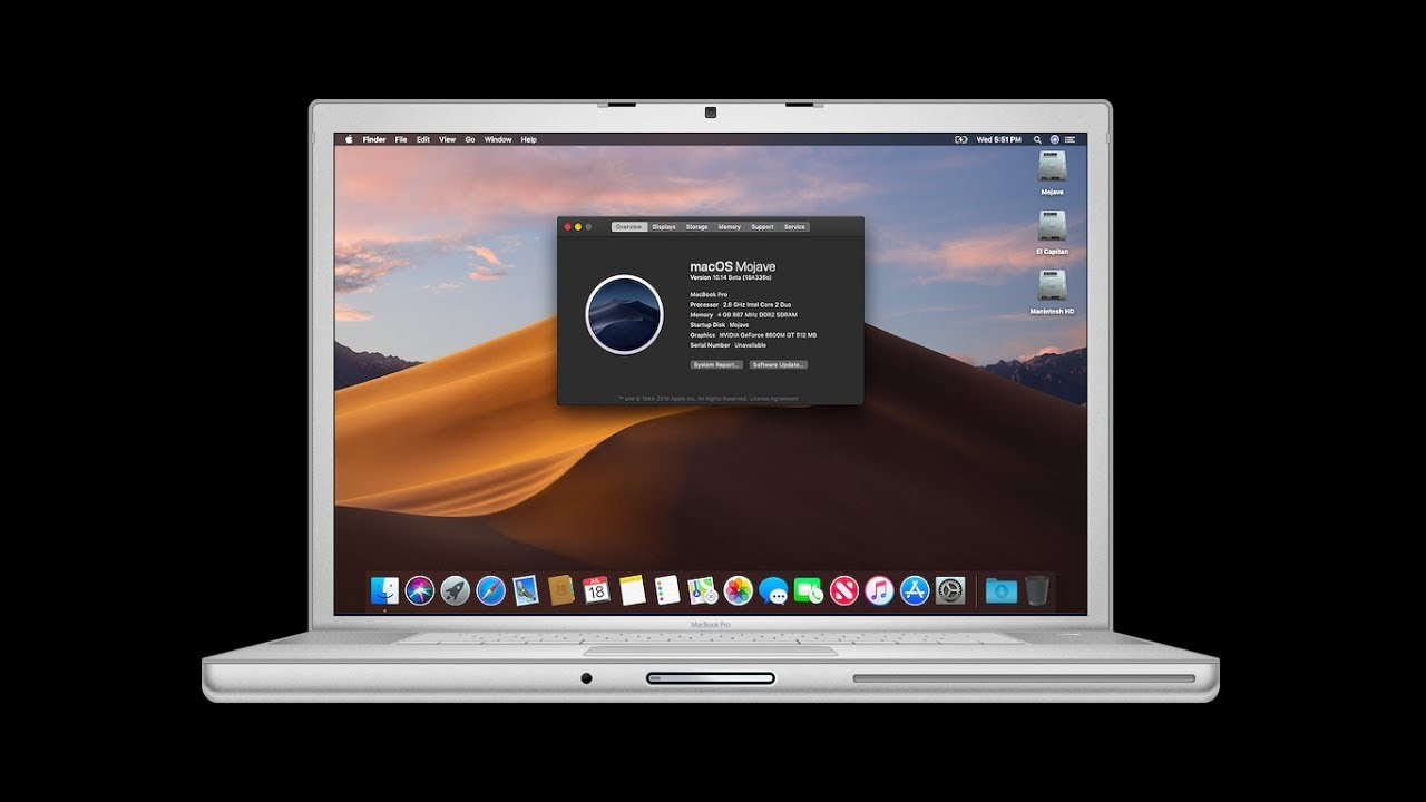 How to Install MacOS Mojave on Unsupported Macs with DosDude