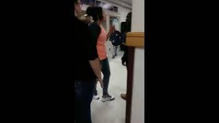Latina vs black (fight)