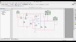 Simulation of Narrow Band Pass Filter(BPF)