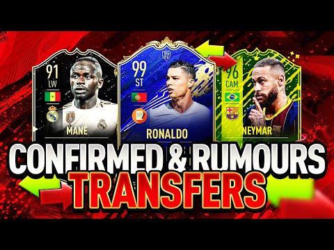 FIFA 21 | SUMMER 2020 CONFIRMED TRANSFERS & RUMOURS! (FT. RONALDO, NEYMAR, SADIO MANÉ & MORE!!)