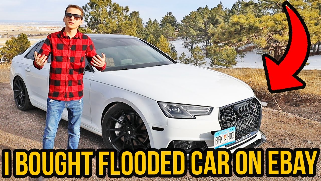 This Is How I Bought Flooded Audi A4 B9 Car from Ebay