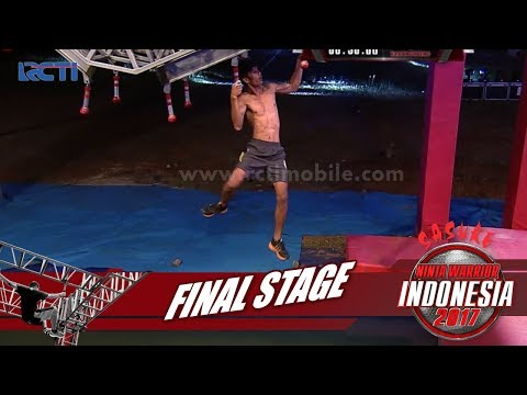 SASUKE NINJA WARRIOR INDONESIA - Yosua Laskaman Di Final Stage [30 September 2017]