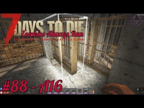 7 Days to Die - Main Base Work, next level - #88 - Zombies Always Run
