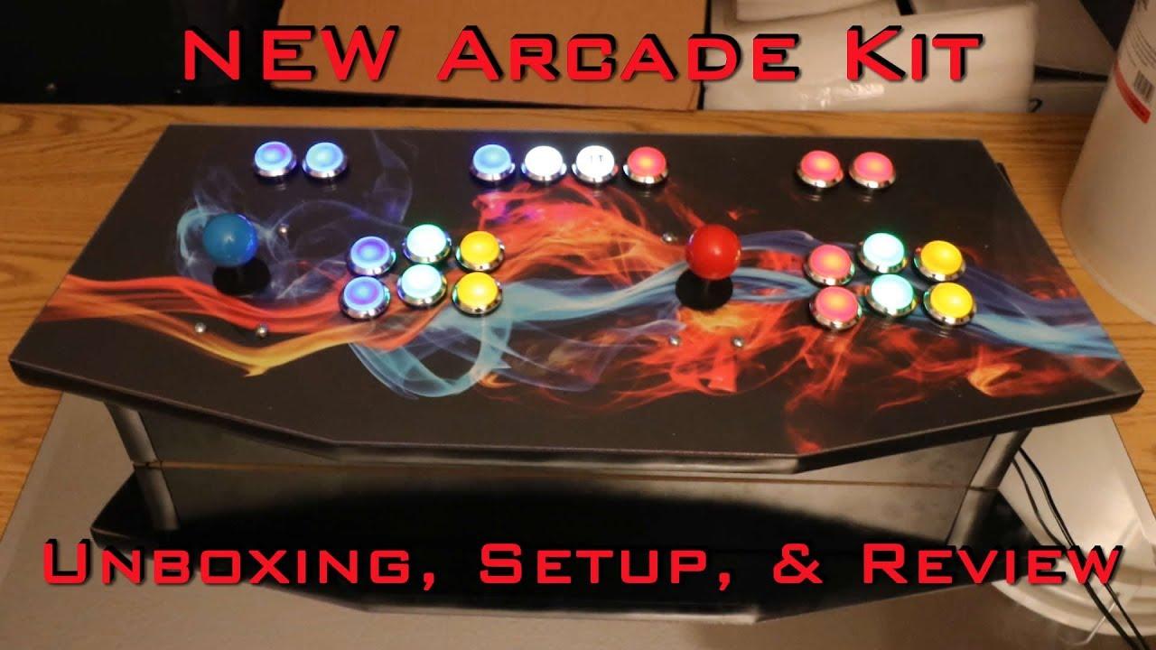 LED Arcade Button KIT - Unboxing & NEW Configuration