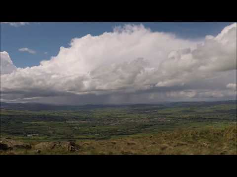 Time Lapse - Low Topped Convection & Funnel Cloud - May 20th 2017