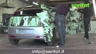 Car Wrapping - Fiat Punto