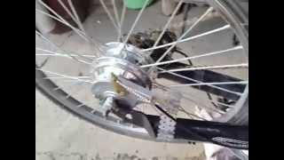 Установка электромотора на велосипед(Установка электромоторов на любые велосипеды на заказ на http://sbservis.com/elektromotory-dlya-velo., 2014-05-18T17:33:49.000Z)