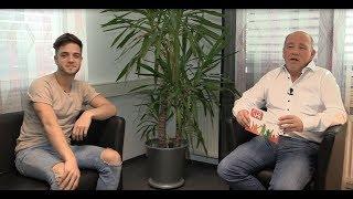 Luca Hänni im Interview bei Radio VHR