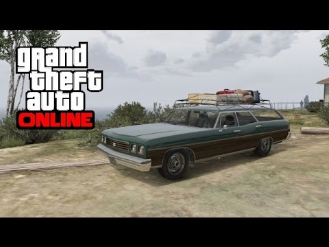GTA 5 Online - How To Get A Regina With A Luggage Rack